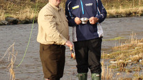 PAUL LAWRIE OPENS THE 2016 RIVER DEVERON FISHING SEASON