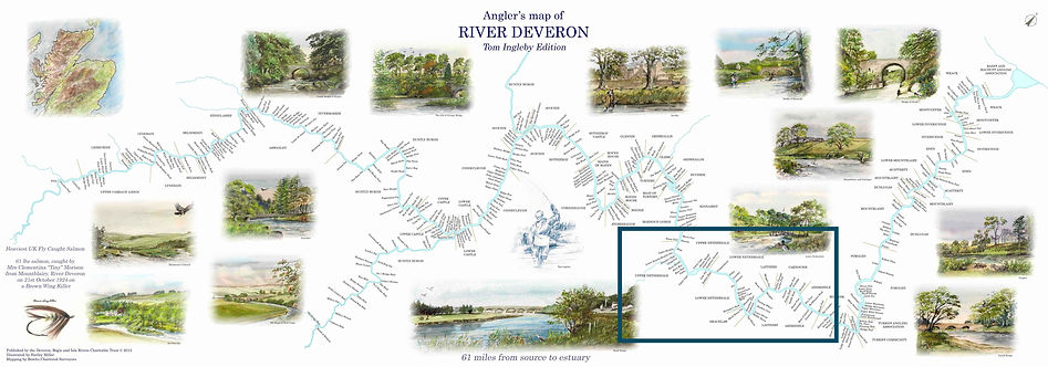 The River Deveron Map