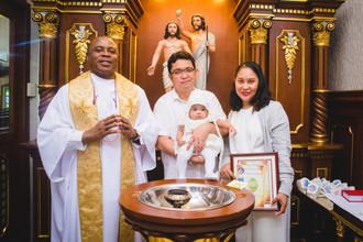 Bernice Claire's Baptism