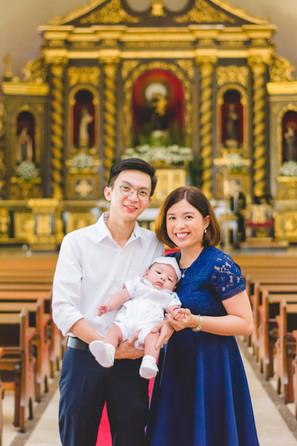 Lucas Andre's Baptism