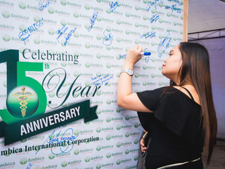 Ambica International Corporation's 15th Anniversary