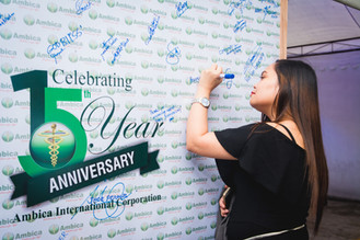 Ambica International Corporation's 15th Anniversary