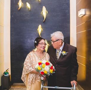 Johnny & Addie's Golden Wedding Anniversary