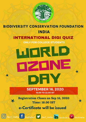 WORLD OZONE DAY-2020