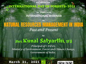 SPECIAL INTERNATIONAL WEBINARS | BCF - INDIA