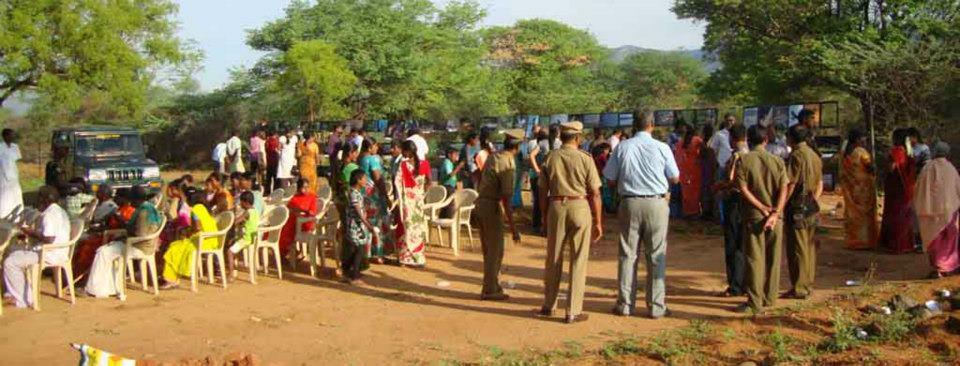 People Gathering in STR