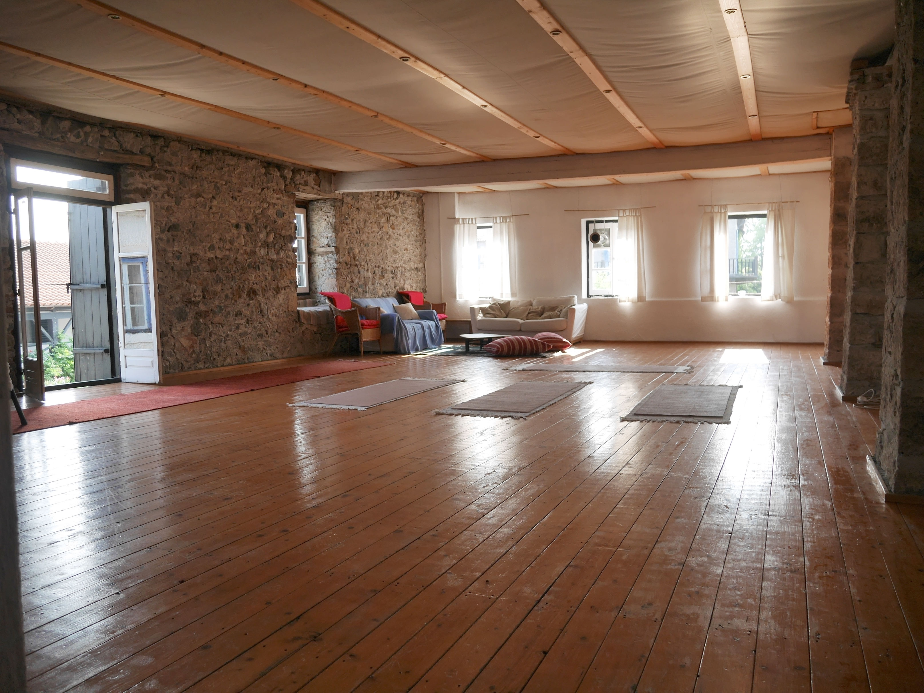 Yoga and seminar room