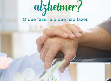Como Cuidar do paciente com alzheimer?