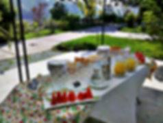 Café da tarde na Casa de Repouso Vivenda Quinta das Flores