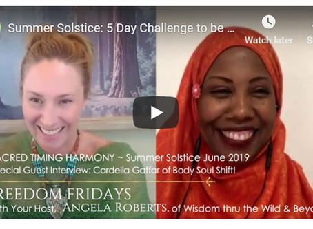 Summer Solstice: Become Energy Rich