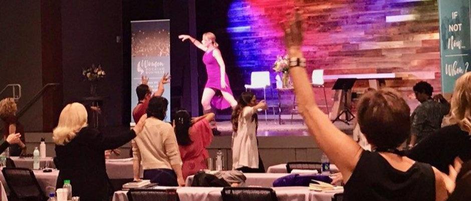 Women Rocking Business Embodiment Exercise ~ Angela Roberts