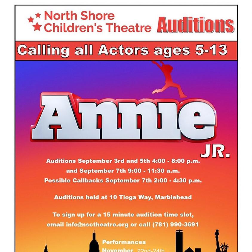 Auditions: Annie Jr.