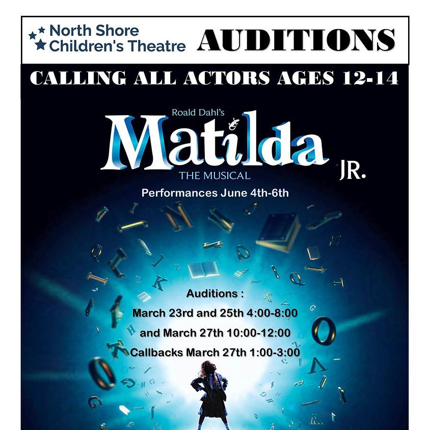 Auditions: Matilda