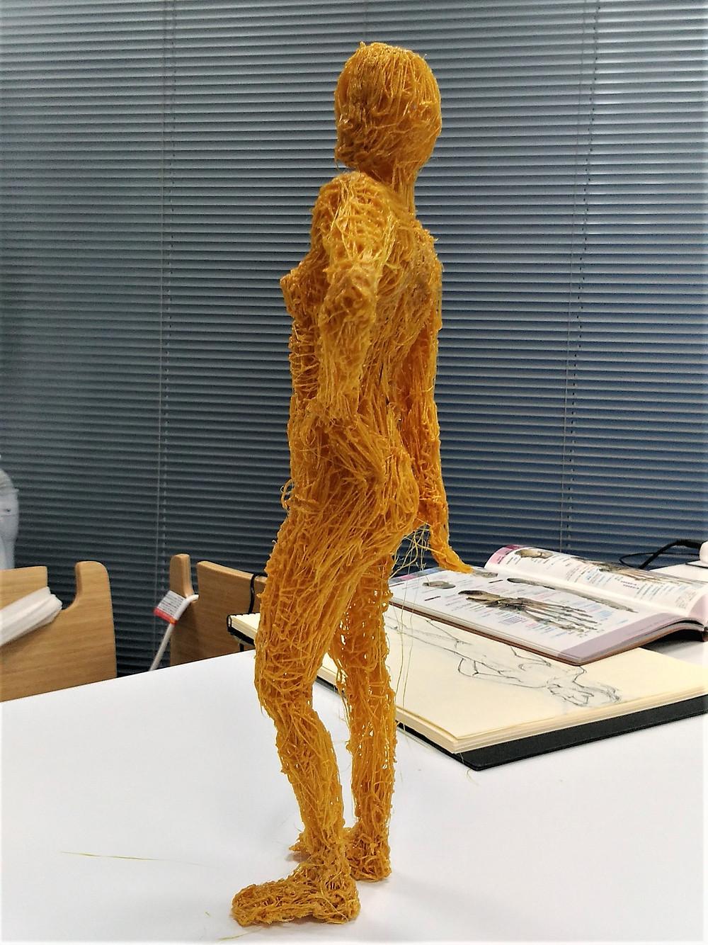 3Dペンモデリング初挑戦の方の途中作品