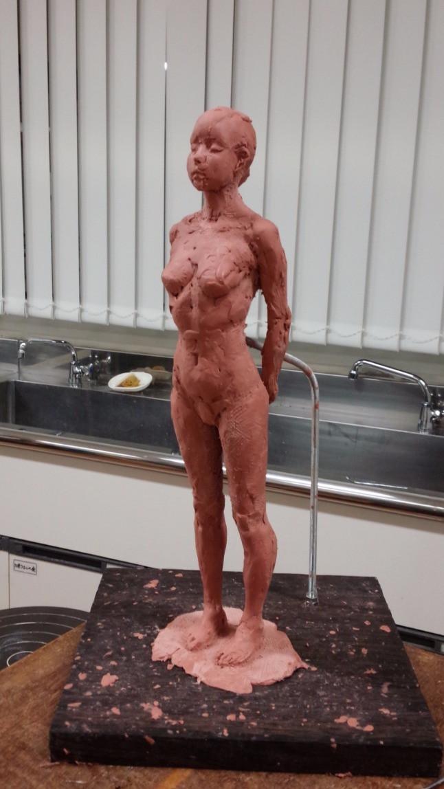 nsp粘土の像