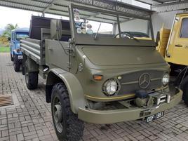 MB Unimog 404 4X4 1961 - Família Carlette - Cachoeiro do Itapemerim ES.