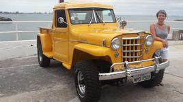 Pick Up Willys 1954 - Hudson MMA - Vitória ES.