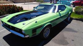 Ford Mustang Mach1 1973 - Márcio Balestreros - Vila Velha ES.