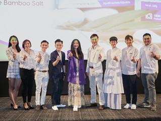 """新常態PBS與藝人們開創新天地推""""紫竹鹽"""" 提升健康意識 張爵西導演哽咽:要珍惜家人,盐就像家人,可以提味。"""