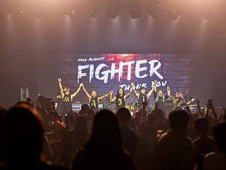 Mad August 《Fighter 》8週年演唱會  劉力揚搖滾助陣 首唱跨國合作單曲《一切都值得》