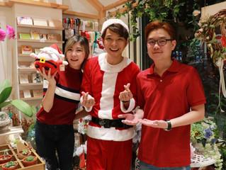 """""""嶼你同在""""聖誕節獻愛心 本地藝人Victor Lee李俊頡、伍家輝及 Jyin Poh 傅健穎 化身聖誕老人大派禮物"""