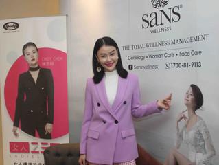 Cindy 陳思頤首辦女人工作坊 分享母親患癌經歷 鼓勵女性多愛自己
