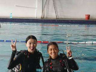 《女人二三事》好好犒勞自己,就是對自己最棒的禮物。 製作單位安排驚喜學習潛水?三月份讓Cindy陳思頤有個新體驗!