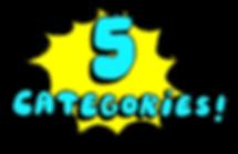5 Categories illustration