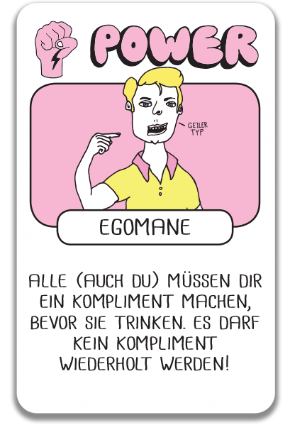 P - Egoman