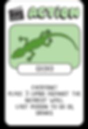 Gecko Card Drink Drank Drunk