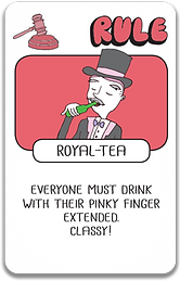 Royal-Tea Card Drink Drank Drunk
