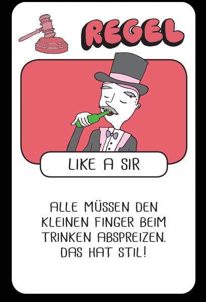 R - like a sir