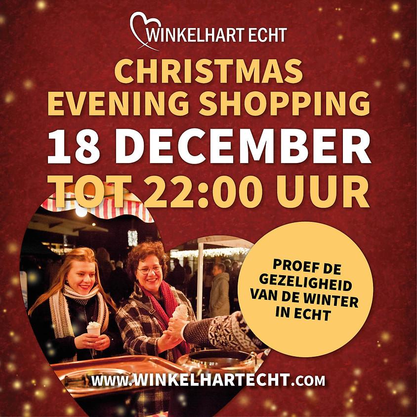Christmas Evening Shopping