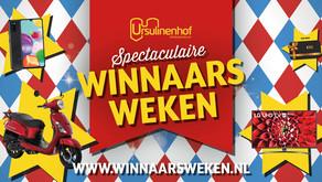 Winnaarsweken bij Ursulinenhof