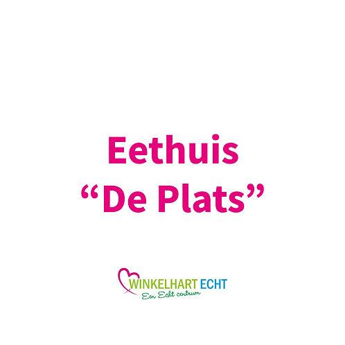 """Eethuis """"De Plats"""""""