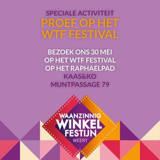 Proef op het WTF-festival