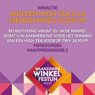 Win een high tea a la Mengelmoes voor 2p