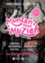 Munten voor Muziek-festijn 2018 poster A