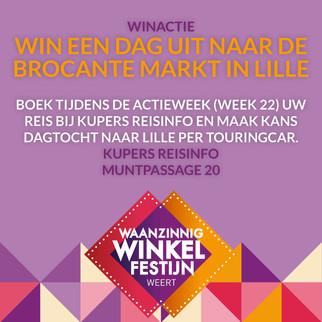 Win een dag uit naar de bracante markt in Lille