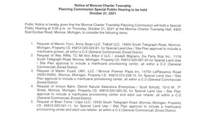 **Rescheduled**Notice of Planning Commission Special Public Hearing 10/21/2021