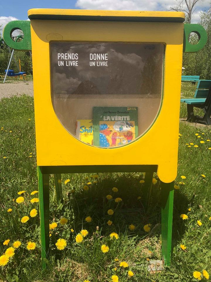 Croque-livres Parc Auger-Legault