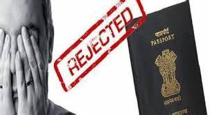 PASSPORT CANNOT BE REFUSED SOLELY ON THE GROUND THAT AN FIR HAS BEEN REGISTERED