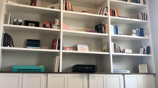 custom book shelf