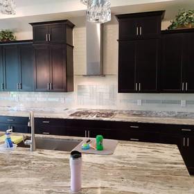 custom kitchen remodel after