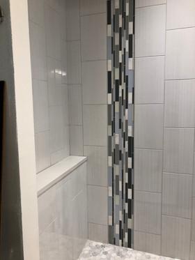 shower sill