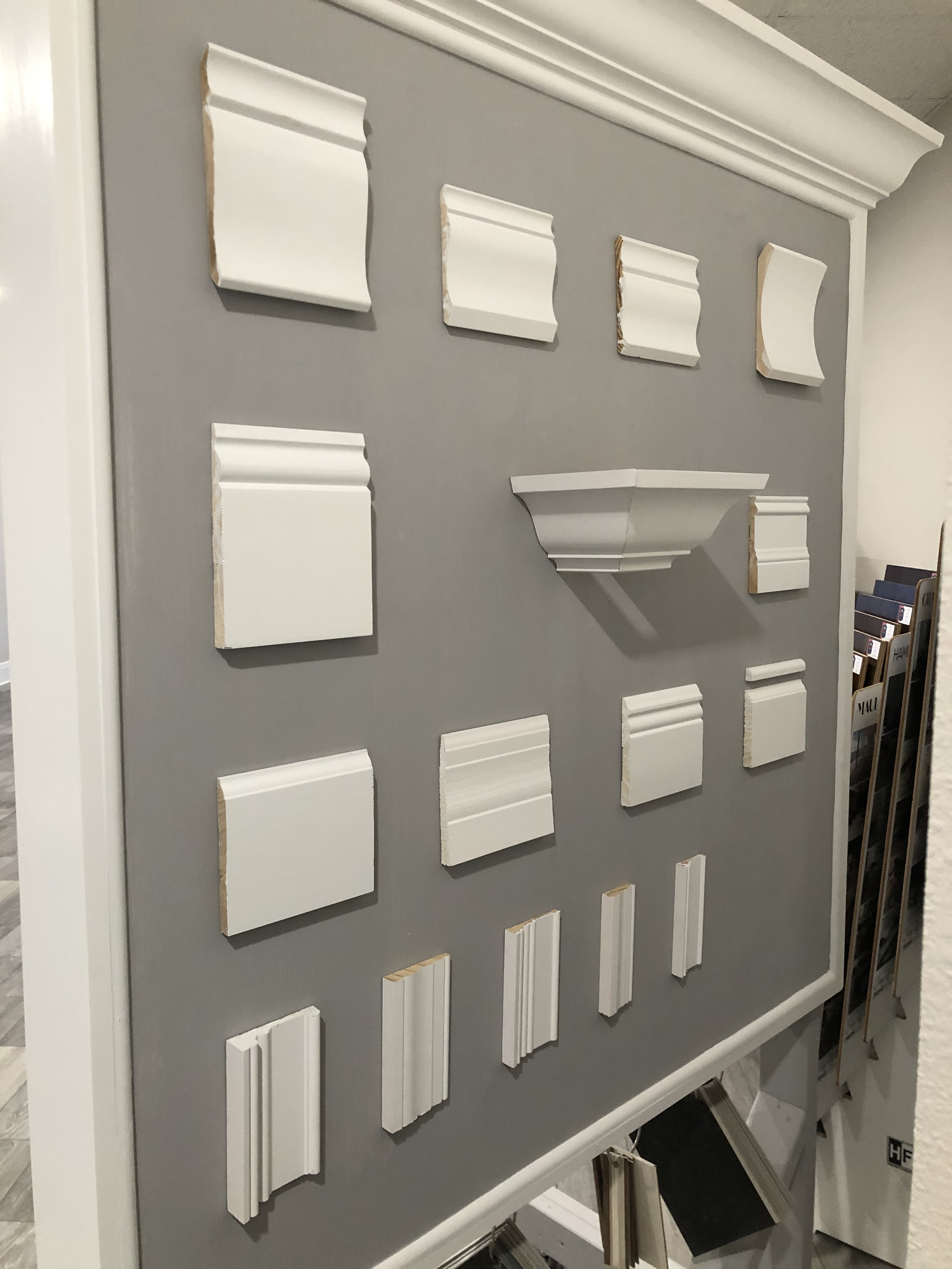 Differenza Homes Showroom Trim and Crown