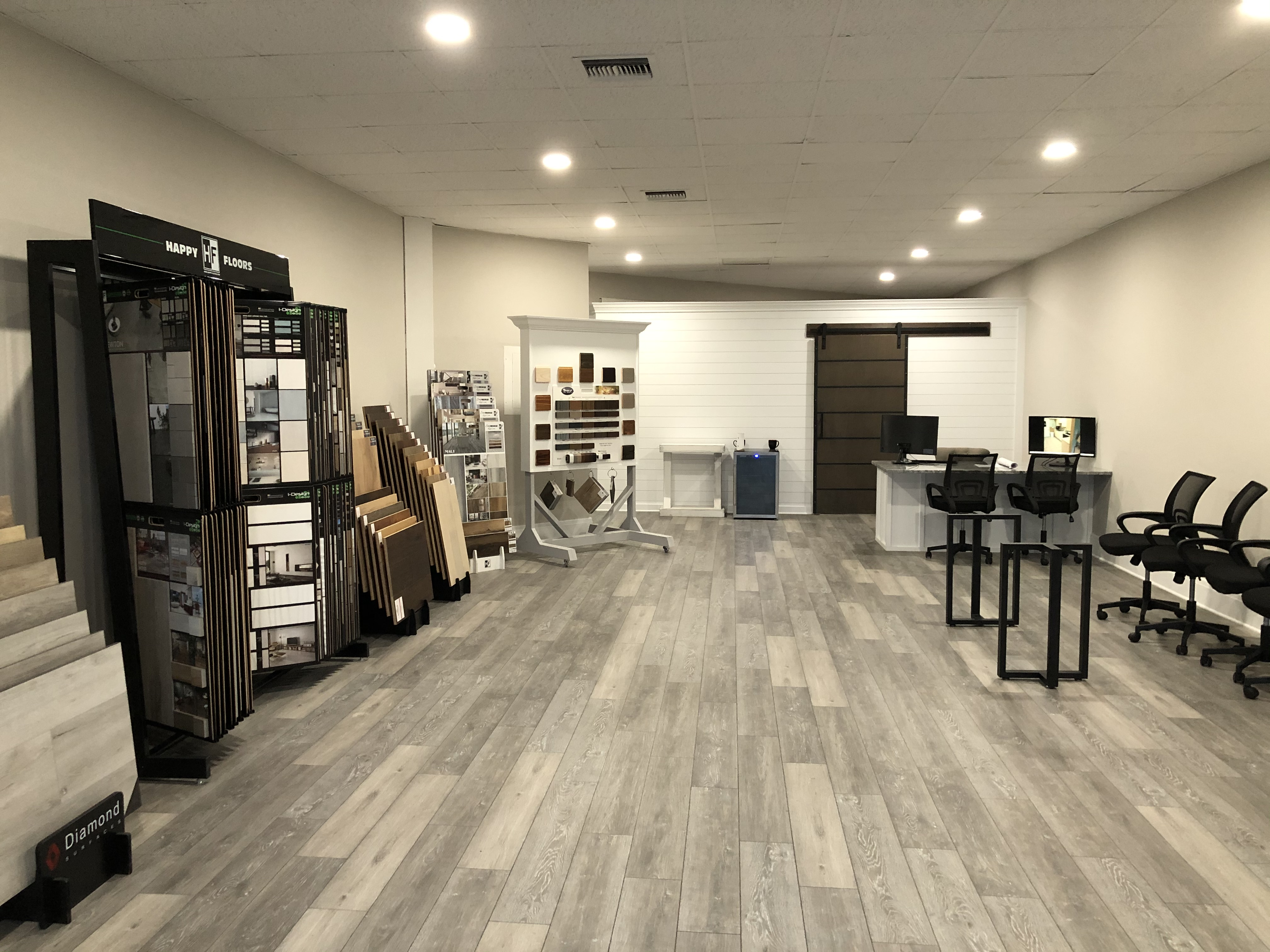 Differenza Homes Showroom Floor