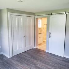 After Pic: Custom sliding barn doors