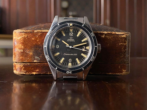 1964 Omega Seamaster 300 Diver watch, ST 165.014-63, cal. 552, Omega extract
