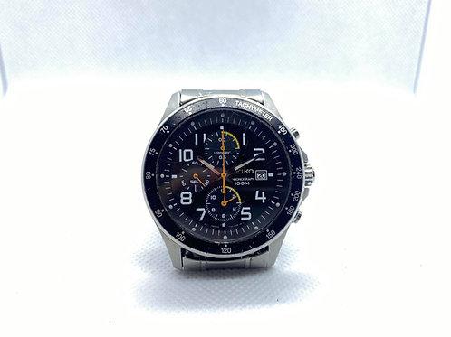 Quartz Seiko Chronograph watch 7T92-0KE0, in good condition